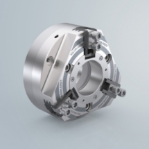 QLC-KS 3-Jaw Large Bore, Wedge Style Power Chuck